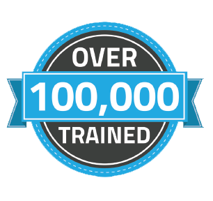 over 100k trained